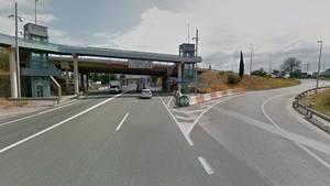 Muere un motorista en la N-340 de Sant Vicenç dels Horts tras una colisión frontal con un turismo
