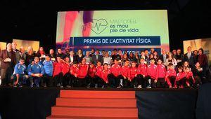 Gala de 'Premis a l'Activitat Física i l'Esport' de Martorell.
