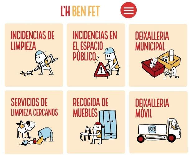 L'Hospitalet estrena una nueva app para comunicar incidencias del espacio público