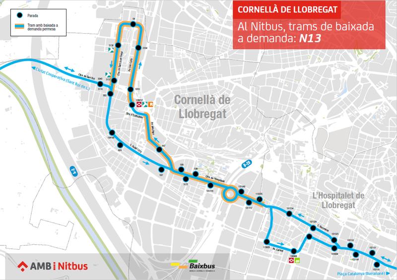 AMB y el municipio de Cornellà de Llobregat crean nuevos servicios de Movilidad Sostenible