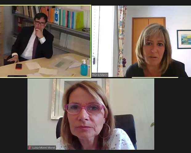 Núria Marín: 'La crisis del covid-19 es una oportunidad para fortalecer la sanidad pública'