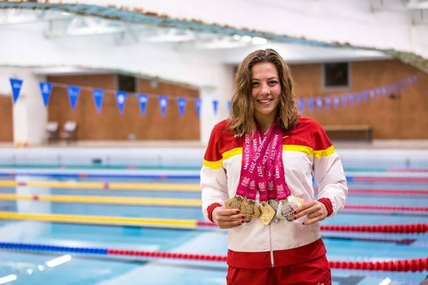 Núria Marqués, la nadadora más laureada del combinado español en México