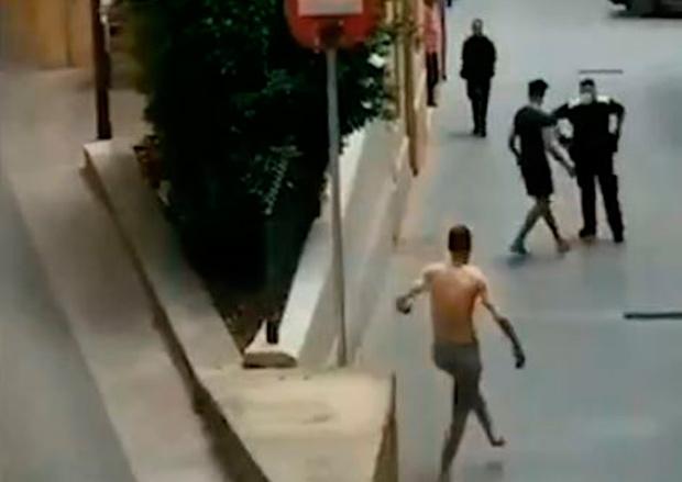 Tercera pelea entre okupas en cinco días en la calle Major de Molins de Rei