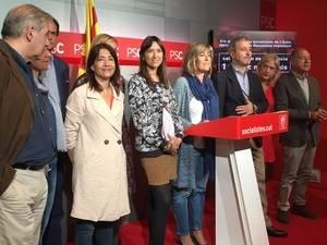 Alcaldes o líderes socialistas de la zona metropolitana de Barcelona