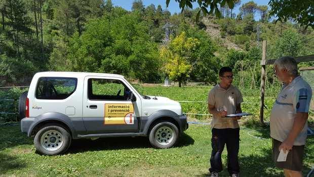 La campaña de sensibilicación de la Diputació de Barcelona para prevenir los incendios forestales.