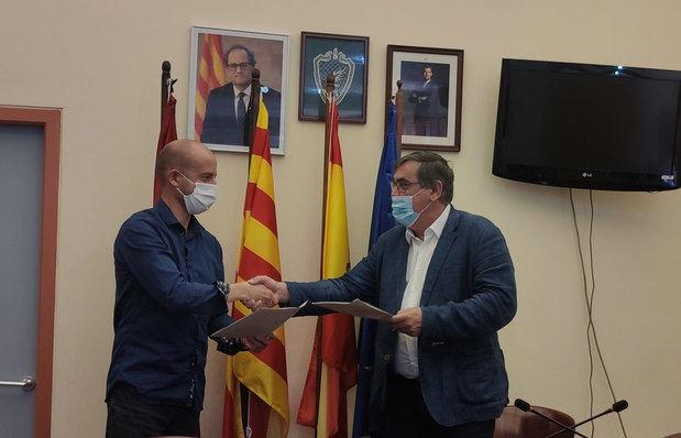El PSC y Ciudadanos rubrican un pacto de gobierno en Sant Esteve Sesrovires