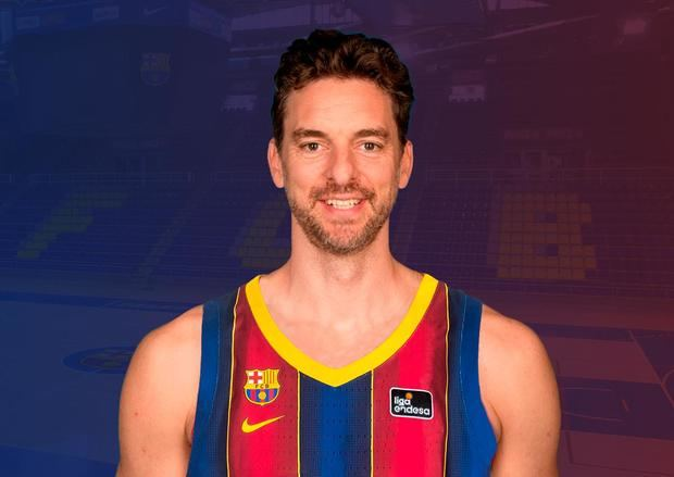 Pau Gasol hace oficial su retorno al primer equipo de baloncesto del Barça
