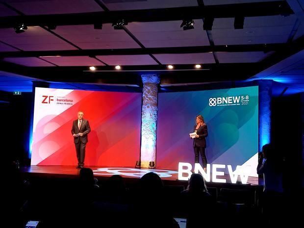 Pere Navarro y Blanca Sorigué presentan el BNEW 2021 en La Pedrera