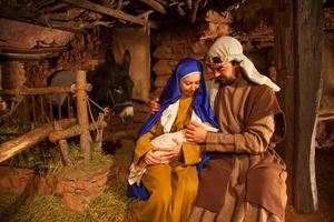 El belén viviente de Corbera, uno de los atractivos de las Navidades en el Baix Llobregat.