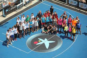 L'Hospitalet viste de baloncesto la Rambla de la Marina