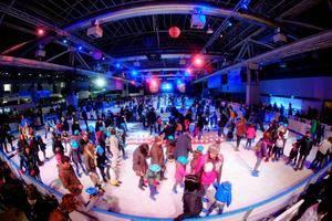 La pista de gel de L'Hospitalet ocuparà tot el recinte firal de La Farga