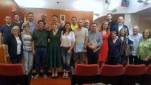 Pleno municipal de Sant Boi en el que se ha aprobado la figura del 'Defensor/a de les Generacios Futures'.
