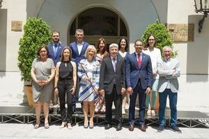 Pilar Díaz divide el gobierno de Esplugues en cuatro grandes áreas