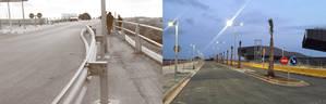 Obre al trànsit el pont sobre la carretera de la Vila al sector de Ca n'Alemany, que millorarà l'accés de la ciutat al seu litoral