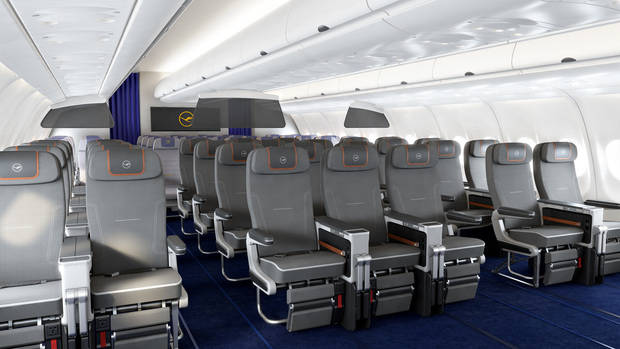 Lufthansa mima a los clientes de Barcelona-El Prat con la nueva Premium Economy Class
