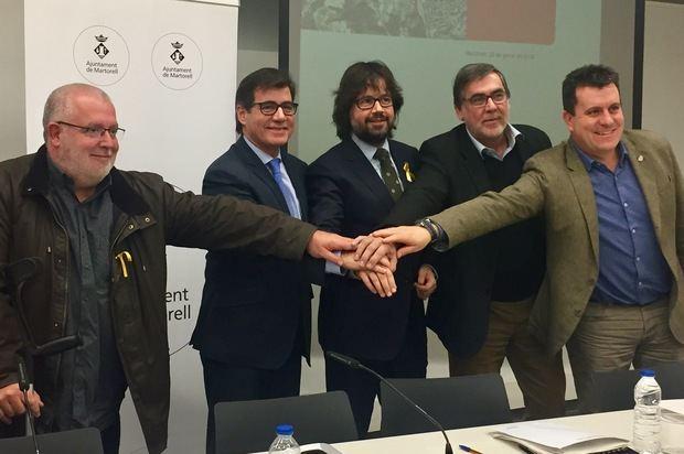 La variante de la B-224, vía que conecta el Baix Llobregat con l'Anoia, será una realidad en 2019