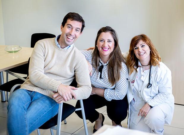 Profesionales del app Gadaca y del Parc Sanitari Sant Joan de Déu.
