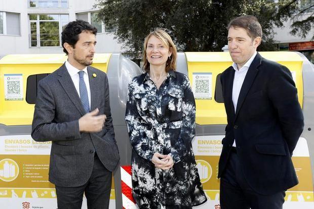 Calvet, Moret y Martín presentaron el balance de Reciclos en el Coboi Lab.