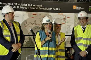 L'Hospitalet obrirà tres noves estacions de Metro a l'any 2019
