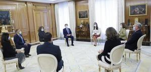 La AEEPP traslada a la Reina Letizia la necesidad de reflotar los medios de comunicación