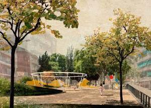 Gavà reemprende las obras para integrar ambientalmente el Paseo Maragall y el Parc del Mil·lenni