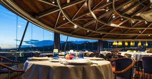 'Terrassing' als restaurants amb vistes del Baix Llobregat
