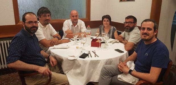 Reunión de los 6 alcaldes para la mejora de la A-2.