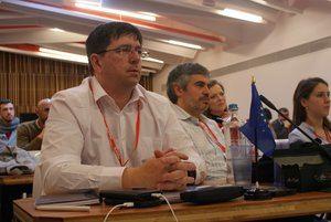 Richard Burton, del PSC de L'Hospitalet, entra en la ejecutiva del PSOE europeo