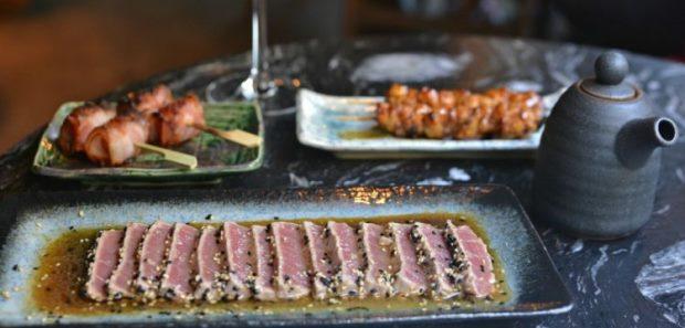 Robata, brasa japonesa y sushi femenino en el Eixample