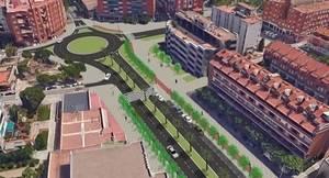 Sant Andreu de la Barca remodela el entorno del Ayuntamiento para pacificar la antigua 'Nacional'
