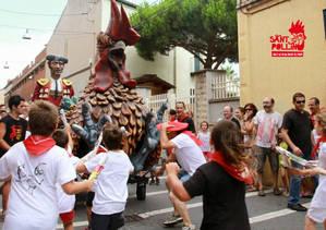 La curiosa festa de Sant Pollín, a El Prat, introdueix la I Ruta Gastronòmica de Pintxos
