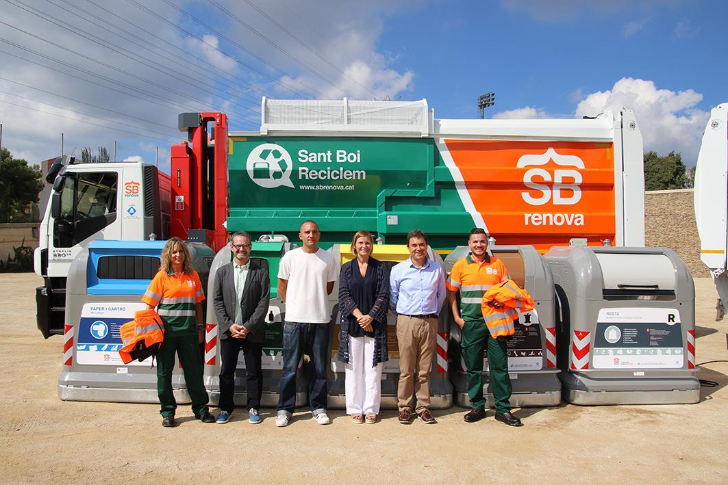 Sant boi inicia una nueva etapa en el servicio de recogida de servicios y limpieza de la ciudad - Muebles sant boi ...