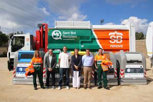 Sant Boi inicia una nueva etapa en el servicio de recogida de servicios y limpieza de la ciudad