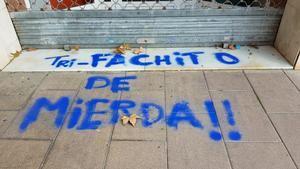 Ciudadanos denuncia un nuevo ataque independentista en su sede de L'Hospitalet