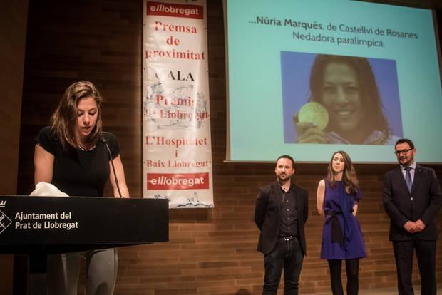 Marquès fue una de las premiadas en la última edición de nuestros premios, celebrada el pasado mes de mayo en El Prat
