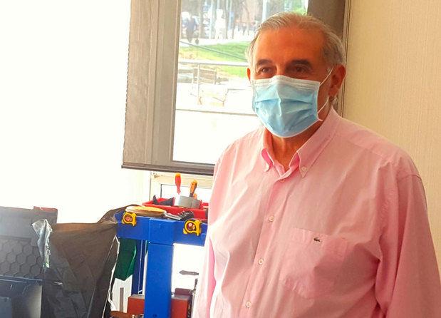 Sant Andreu mantiene activo el hospital de campaña del polideportivo como medida de prevención
