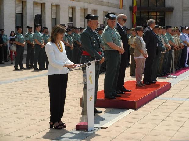 El nuevo jefe de la Guardia Civil en Cataluña a los agentes: 'No os escondáis ante el desprecio'