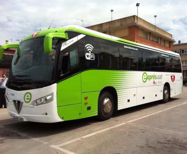La Generalitat aumenta la frecuencia del bus entre Corbera y Barcelona