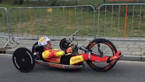 El viladecanense Sergio Garrote, medalla de bronce en el Mundial de Ciclismo en Carretera de Sudáfrica