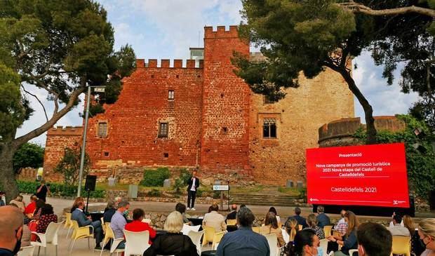 'Sí, és aquí': Castelldefels arrenca la campanya turística amb l'obertura d'un nou espai museístic al Castell