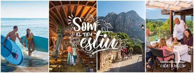 """El Baix Llobregat """"Som el teu estiu"""""""