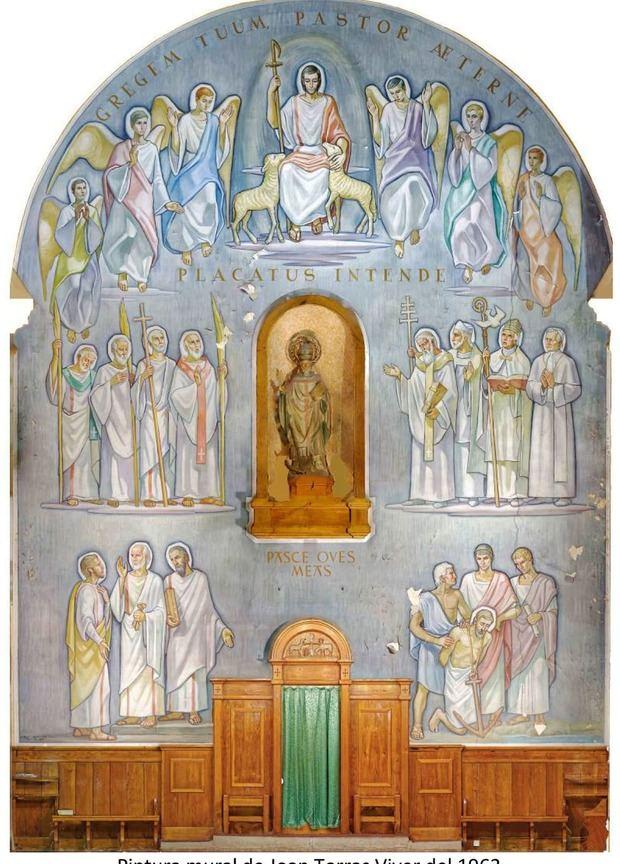 Pinturas murales de la iglesia de Sant Climent.