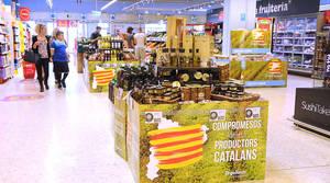 Caprabo crea el primer mapa digital de productos de proximidad por comarcas de Cataluña