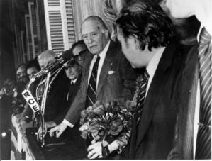 Cervelló es vesteix de gala per celebrar els 40 anys de la tornada de Tarradellas