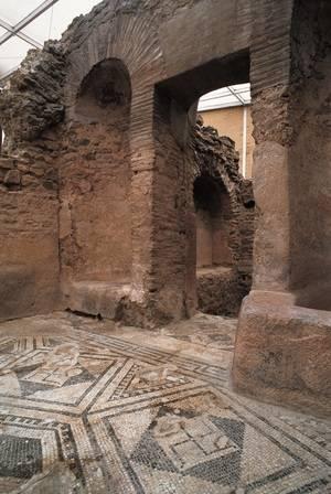 Les Termes Romanes de Sant Boi, bé cultural d'interès nacional