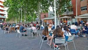 Gavà no cobrará la tasa de terrazas a bares y restaurantes durante lo que queda de año