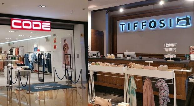Vilamarina se convierte en un espacio pionero en disponer de tiendas de Tiffosi y Code