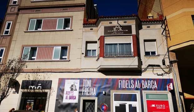 Sede de Toni Freixa en la calle Pérez Galdós en Collblanc