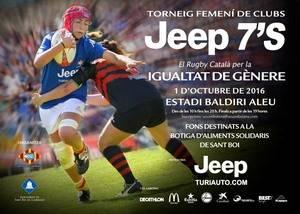 La Unió Esportiva Santboiana celebra el Torneig Femení de Clubs de rugby per la igualtat de gènere