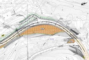Proyecto de mejora de las curvas en la carretera BV-2005 en Torrelles.